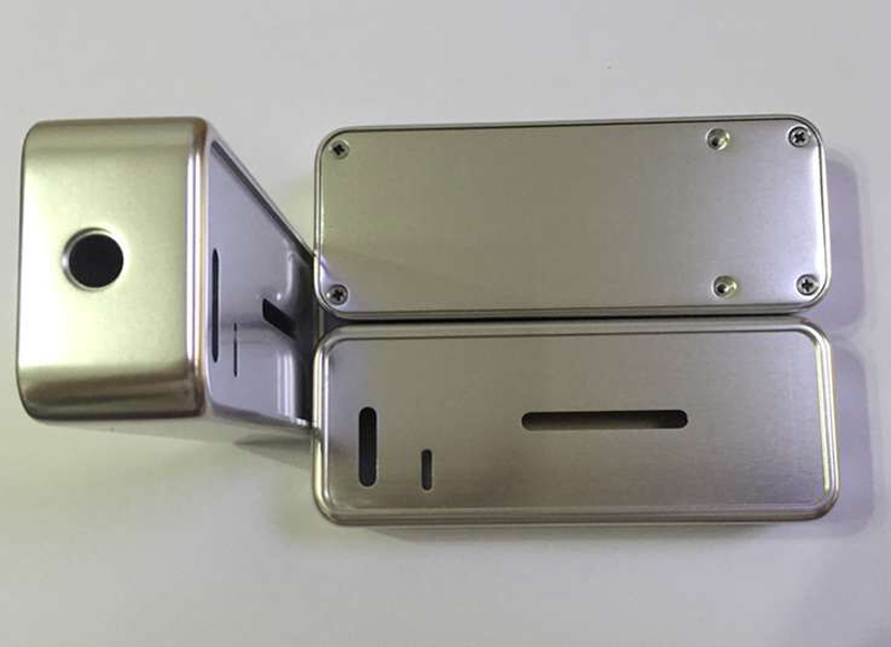 Custom aluminum milling case parts
