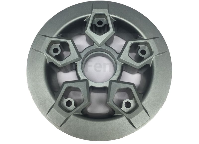 precision cnc machining wheel parts