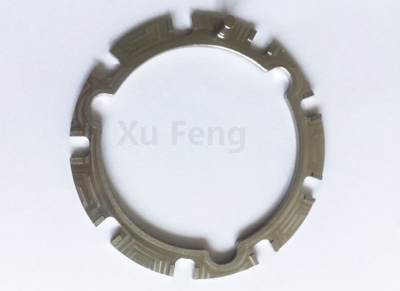 Steel machining drive ring and plate level parts