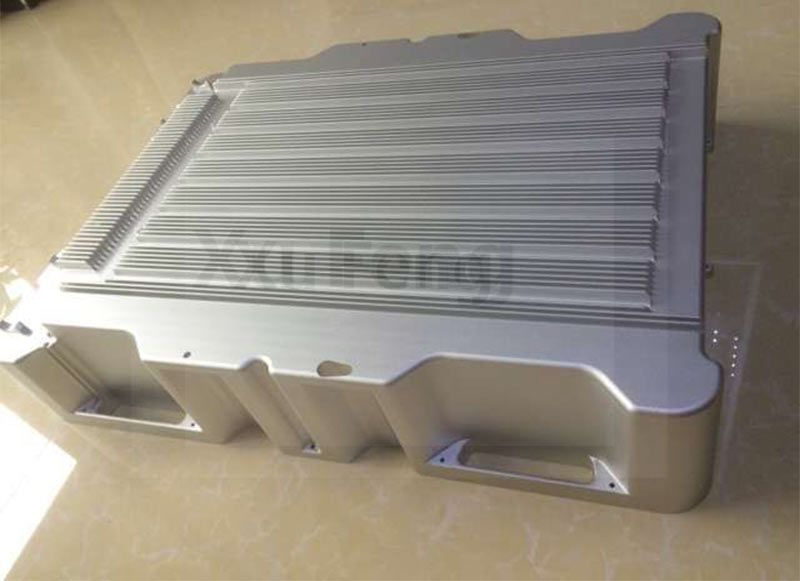 cnc big size aluminum box parts