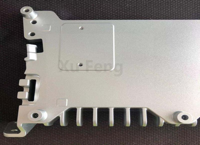 CNC Machining radiator cover Services