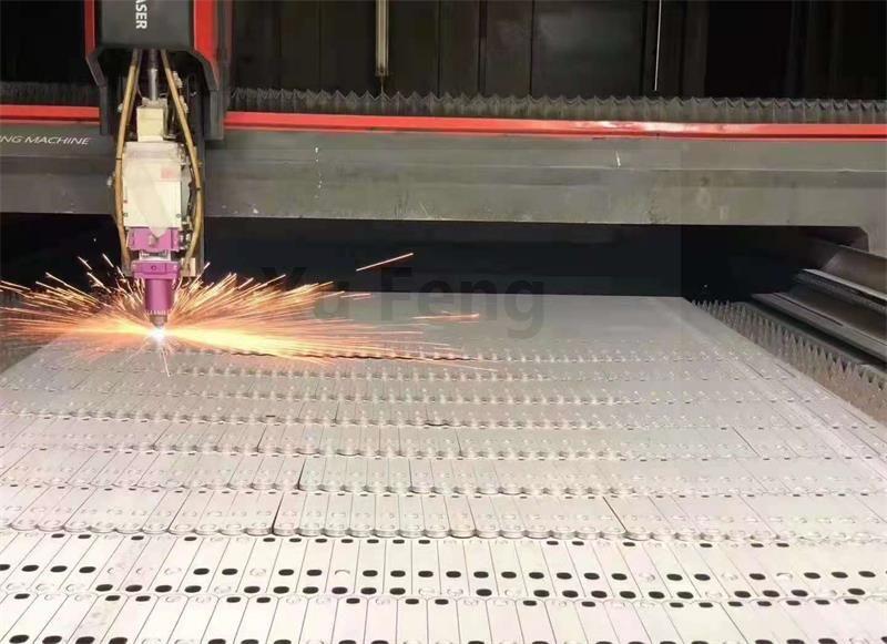 sheet metal work of laser cutting